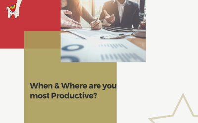 When & Where are you most Productive?